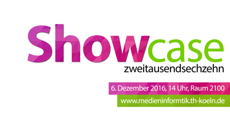 Medieninformatik Showcase 2016