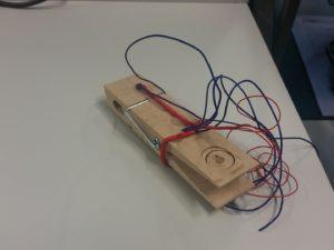 Smarte Wäscheleine - Wäscheklammer mit Sensoren