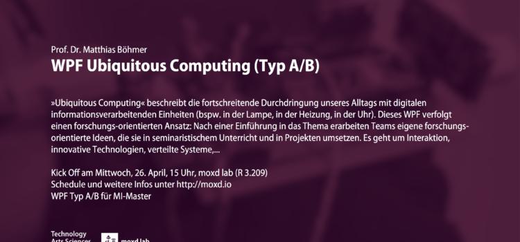 WPF Ubiquitous Computing (SoSe17)