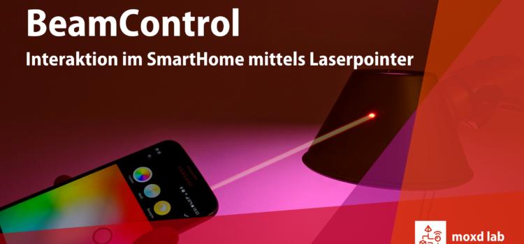 BeamControl: Interaktion im SmartHome mit Laserpointer