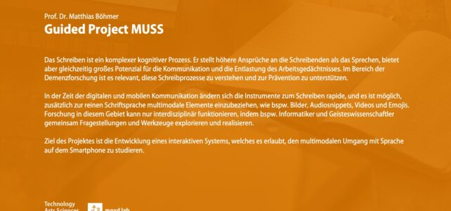 Guided Project MUSS