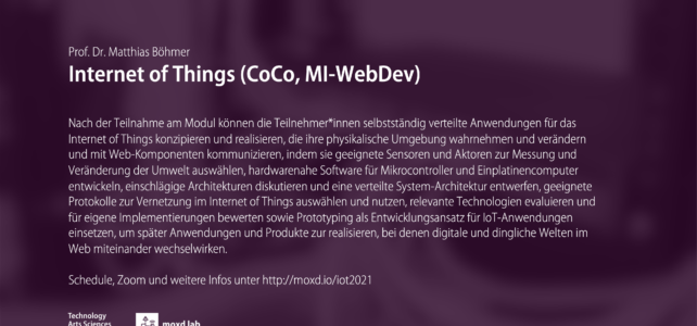 Internet of Things (SoSe 2021)