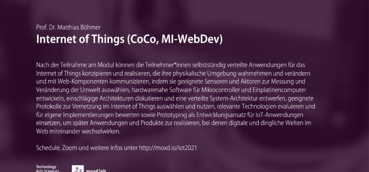 Internet of Things (SoSe 2021)